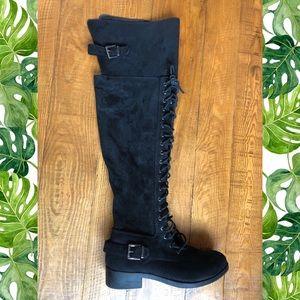 Knee high boots!